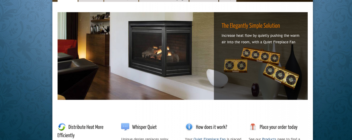 Fireplace Design fireplace fan : Quiet Fireplace Fans – Commucore Consulting